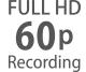 Full-HD mit Bildraten von 24p bis 60p