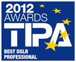 Testlogo TIPA Awards 2012 - Canon EOS-1D X - Best DSLR Professional