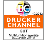Testlogo: Canon PIXMA MG7150 - Druckerchannel Gut